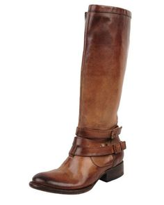 Freebird Irish Triple-Buckle Distressed Knee Boots