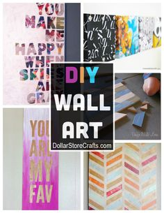 10 DIY Wall Art Ideas from Recycled Materials