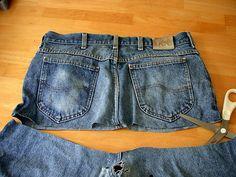 Como Transformar uma Calça Jeans em Bolsa: 13 Passos