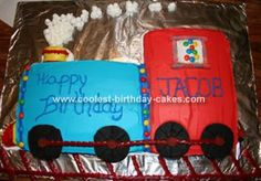Train Cake, seems doable for me!