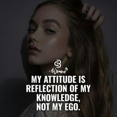 Best quotes girl attitude you are ideas Quotes About Attitude, Positive Attitude Quotes, Attitude Quotes For Girls, Crazy Girl Quotes, Inspiring Quotes About Life, Girl Attitude, Inspirational Quotes Attitude, Sassy Girl Quotes, Attitude Quotes In English