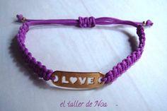 #Pulseras ref. gbi15001 de la Col. Glissant Bracelet, regulables y con detalle central. Te gustan los #perritos, o eres una #enamorada del #amor... Compras en www.eltallerdenoa.com #bisutería #jewelry #bracelet, #adjustable #dog #love #joyería