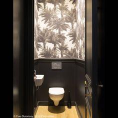 Des toilettes noirs