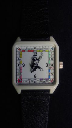 Rare Vintage 80's Monopoly Board Game Watch