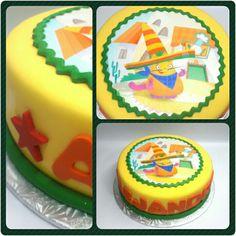 Cake Standard Henry • Baby TV #pritycakes #PrityCakes #cakes #torta #dulce #fondant #tortadecorada #edible #bolo #fondantcake #henry #henrybabytv #babytvcake #babytv #panamá #pty507