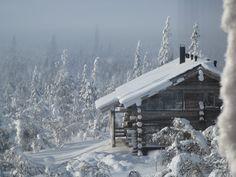 Utsuvaara cottage in Lapland