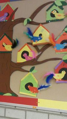 Vorschule Basteln Frühling – Rebel Without Applause Kids Crafts, Summer Crafts, Toddler Crafts, Arts And Crafts, Toddler Preschool, Preschool Crafts, Free Preschool, Bird Nest Craft, Feather Crafts