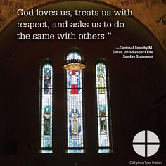 Let us give others the same respect we have received from God. Respect Life, Gods Love, Let It Be, Love Of God