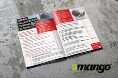 Katalógus készítés, belívek tördelés & grafikai tervezés. A4 méretű, 4+4 színben szerkesztett 8+4 oldal terjedelmű irkatűzött kiadvány.