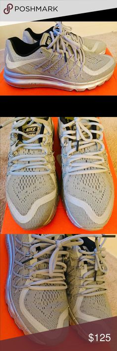 e5e6eb492104b0 Nike Air Max 2015 Reflect Womens Size 9 Silver Nike Air Max 2015 Women s  Reflect Silver