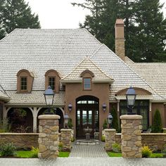 A roof can account for 40 percent of a home's look from the curb, so carefully consider what material will best complement your home and attract potential buyers: http://www.bhg.com/home-improvement/exteriors/curb-appeal/boost-curb-appeal/?socsrc=bhgpin030214installnewroofing&page=4