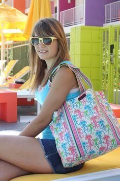 bungalow360 jellyfish beach bag
