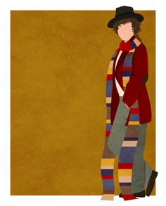 Finally finished my vector (not minimalist ;)) tribute to all eleven Doctors…