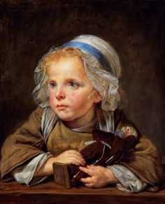 Jean-Baptiste Greuze: The Capuchin Doll (1765)