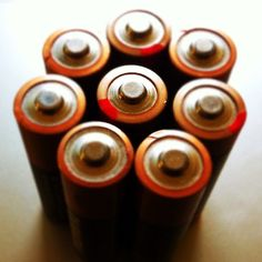 """Charged and ready to go! Yea, why not get rechargeable batteries and minimize the """"throwing-out-batteries"""" issue."""