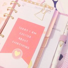 Inside my medium lilac Kikki K Time Planner which I use as a health and fitness diary