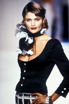 Helena Christensen - Valentino, S/S 1995