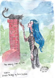 The wrong sort of cat Karou from the Daughter of Smoke and Bone Trilogy by Laini Taylor I'm… Anna And The French Kiss, Bone Books, Terry Pratchett Discworld, Laini Taylor, Daughter Of Smoke And Bone, Fantasy Couples, Beautiful Dark Art, Lunar Chronicles, The Little Prince