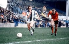 4th April 1981. West Brom flyer Peter Barnes in action against Ipswich Town's Steve McCall at the Hawthorns.