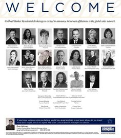 Please help us welcome this incredible group of real estate professionals who associated with Coldwell Banker Residential Brokerage Arizona in the month of July! #ColdwellBankerArizona