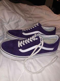 VANS Old Skool Men s 5 - Women s 10 Purple Suede Shoes FAST SHIP  fashion   47a4c656a