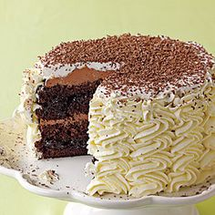 Black Forest Cherry Layer Cake