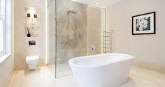An elegant bathroom in Berkshire #bathtub