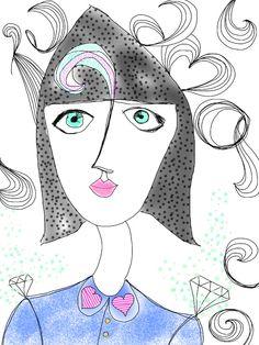 Drawing By Pedro Rodrigo Gonzalez