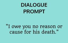 Screenwriting prompt