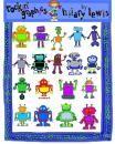 Rockin' Robots Clip Art for Teachers product from Rockin-Graphics on TeachersNotebook.com
