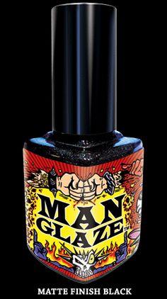 Man Glaze nail polish for men just another way to not show gender basis expect who said men could not use regular nail polish or 'women's' nail polish?