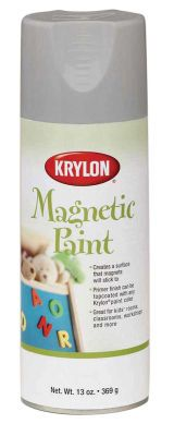 Make it magnetic for great craft ideas and home décor projects that stick. Transform everyday objects into surfaces to hold lightweight magnets with Krylon® Magnetic Paint.