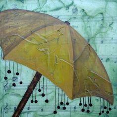 umbrella art Nancy Kremiller