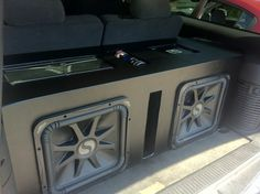 Ive always wanted one for my car. My friends have these and they work great. This came on my radar when i had friends get similar things. Ford Gt, Audi Tt, Kicker Subwoofer, Jetta A4, Car Audio Shops, Peugeot, Volkswagen, Subwoofer Box Design, Car Audio Installation