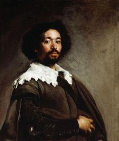 Diego Rodriguez de Silva y Velázquez - Portrait of Juan de Pareja