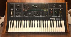 Synthesizer website dedicated to everything synth, eurorack, modular, electronic music, and more. Moog Synthesizer, Recording Studio, Electronic Music, Keyboard, Heaven, Music Instruments, History, Sky, Historia