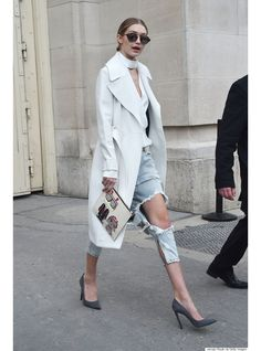 Inspiration mode les stars en trench coat | Vogue