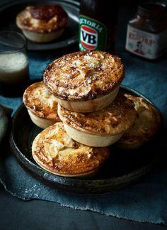 Slow roasted lamb, white wine & rosemary Aussie pies - What Katie Ate Aussie Pie, Aussie Food, Lamb Recipes, Meat Recipes, Cooking Recipes, Cooking Tips, Curry Recipes, Pavlova, Lamb Pie