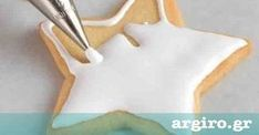 Άσπρο γλάσο με άχνη χωρίς αυγό από την Αργυρώ Μπαρμπαρίγου | Σε 2' έχετε την τέλεια διακόσμηση για κέικ, μπισκότα, τσουρέκια ή τούρτα, αλλά και βασιλόπιτα! Comme Un Chef, Le Chef, Icing Frosting, Butter Icing, Greek Desserts, No Cook Desserts, The Kitchen Food Network, Fondant, Cupcake Images