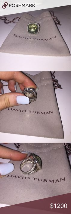 David Yurman Albion 17mm Ring This ring is in excellent condition! I've only had it since may and have only worn it a couple times! David Yurman Jewelry Rings