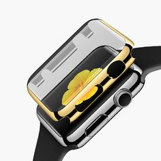 Protect your Apple watch with this luxury Apple watch case! This is a one-piece fully protective Apple watch case with crystal clear screen protector. Available in 3 colours: Yellow Gold, Rose Gold an