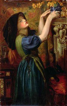 Marigolds - Dante Gabriel Rossetti