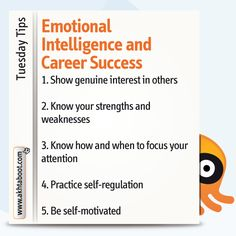 Akhtaboot reveals the main characteristics of an emotionally intelligent individual as well as some helpful tips for using emotional intelligence to help you build sustainable relationships with your coworkers and managers.