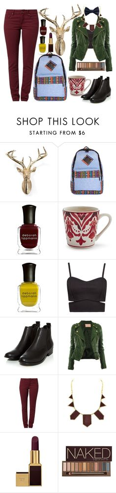 """Geen titel #332"" by dipske ❤ liked on Polyvore featuring Deborah Lippmann, Sur La Table, Forever New, TURNOVER, House of Harlow 1960, Tom Ford and Urban Decay"
