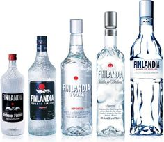 Finlandia Vodka of Finland Cranberry Lime Mango iina Liquor Bottles, Drink Bottles, Vodka Bottle, Bottle Packaging, Bottle Labels, Blue Cheer, Good Old Times, Bottle Design, Party Drinks