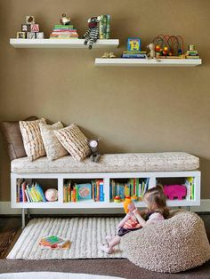 Ideas to organize reading corners