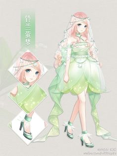 Also what the people of Greenland would look like. Lily Of The Valley Firefly Dreams Anime Chibi, Anime Art, Anime Style, Art Magique, Art Kawaii, Kleidung Design, Pelo Anime, Manga Clothes, Anime Dress