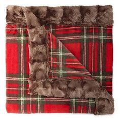 Get extra style and comfort at home with this printed fleece throw blanket from Cuddl Duds that features velvety soft faux fur trim. Fur Throw, Fleece Throw, Craft Fur, Flannel Blanket, Autumn Theme, Fall Decor, Faux Fur, Plush, Prints
