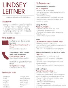 resume design for social media coordinator job wwwpeacelovesequinscom - Social Media Manager Resume