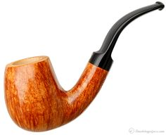 Luciano Smooth Bent Billiard (239) (C) Pipes at Smoking Pipes .com